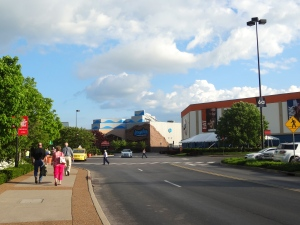 Shopping Mall next to Opry