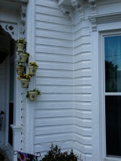 check the layers of paint on this home