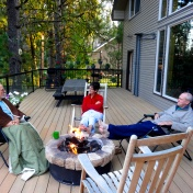 Ok, I did not get out to the fire until 7:30 or 8:00, but it was still 47 degrees when I did each morning.