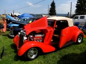 """New Meadows Labor Day loggers event and car show. """"Little Deuce Coupe"""""""