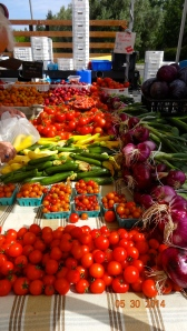 Our own Farmers Market at Rossmoor